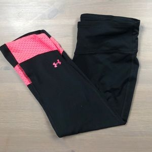 Under Armour cropped leggings! Worn once.
